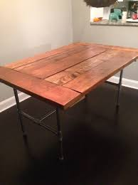 how to make a reclaimed wood table snapguide
