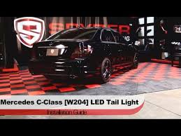 2010 s550 tail lights spyder auto installation 2008 12 merecedes c class w204 led tail