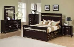 Modern Bedroom Set Dark Wood Brown Wood Bedroom Furniture Vivo Furniture