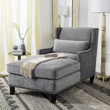 contemporary nailhead chaise lounge safavieh com thoroughly contemporary the grey velvet vitali chaise has a family tree that can be traced as far back as the victorian fainting couch