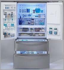 Lg French Door Counter Depth - samsung 22 5 cu ft counter depth french door refrigerator french