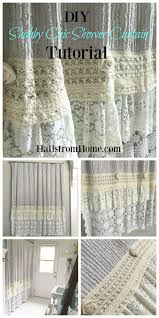 Grey Shabby Chic Curtains by Best 25 Shabby Chic Campers Ideas On Pinterest Shabby Chic