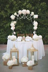 Sweetheart Table Decorations 119 Best Sweetheart Table Decor Ideas Images On Pinterest