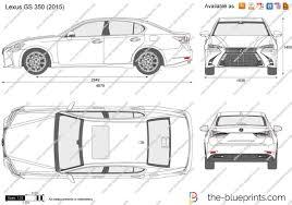 lexus nx 2016 pdf the blueprints com vector drawing lexus gs 350
