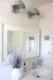 Galvanized Vanity Light Farmhouse Bathroom Lighting Ideas Tags Farmhouse Style Bathroom