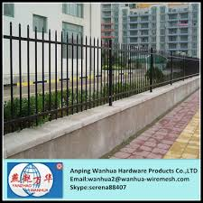 factory sale decorative ornamental steel fence parts with cheap
