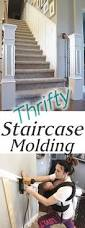 Stair Trim Molding by Staircase Makeover How To Install Molding Remington Avenue