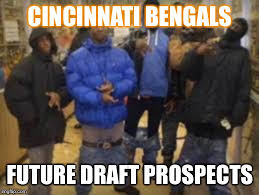Cincinnati Bengals Memes - group of thugs imgflip