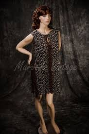 Vanity Fair Long Nightgowns Vintage Vanity Fair Long Nightgown Lingerie Leopard Print And