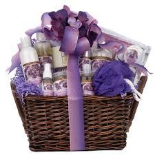 lavender gift basket gift baskets created lavender spa gift basket