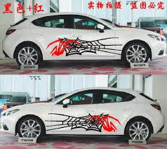 subaru side decal for most car truck vinyl animal spider u0026spider web patterns body