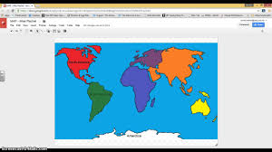 North America Continent Map by 1st Google Drawing Map Continents Youtube