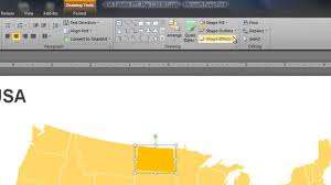 Color Coded Map Of Usa by Powerpoint Map Of Usa How To Change The State Colors Youtube