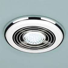 Chrome Bathroom Fan Light Light Fan Bathroom Lighting Heater Extractor In One Unit Heat