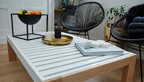 Diy Side Table D I Y Slatted Coffee Table Bunnings Warehouse Nz