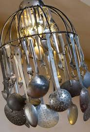Diy Vintage Chandelier 37 Ingeniously Clever Ways To Repurpose Old Kitchen Items