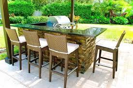 outdoor island kitchen home