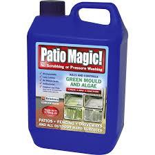 Homebase Patio Patio Magic Hard Surface Cleaner 5l At Homebase Co Uk