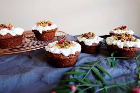sesame cupcakes orange and sesame cupcakes with labne frosting wellbeing au