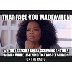 Gospel Memes - top 5 hilarious memes of whitney houston biopic catchthetea