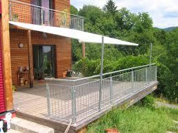 sonnensegel befestigung balkon shadeone das sonnensegel shadesign das