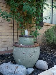 the happy homebodies diy flower pot fountain take two