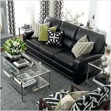 Living Room Decorating Ideas With Black Leather Furniture Black Leather Sofa Pillow Ideas 1025theparty