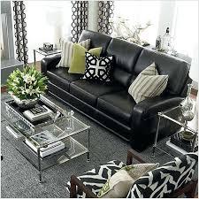 black leather sofa living room ideas black leather sofa pillow ideas 1025theparty com