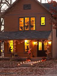 Outdoor Windows Decorating Double Cool Halloween Windows Decorating Ideas Furniture