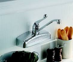 wall mount kitchen faucet single handle 18 best wall mount faucets images on wall mount