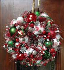 christmas mesh wreaths 2015 wreaths decor ideas traditional christmas deco mesh wreath