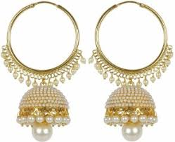 punjabi jhumka earrings jhumka earrings buy jhumki online at best prices flipkart