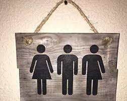 transgender bathroom etsy