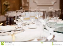 Elegant Table Settings by Elegant Dinner Table Setting Stock Images Image 16433484