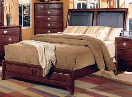 Leather Sleigh Bed Homelegance Capria Sleigh Bed Leather Headboard 878ll 1