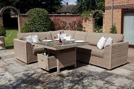 Rolston Wicker Patio Furniture by Sofa Sectional Patio Dining Set Centerfieldbar Com