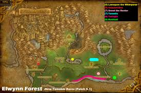 Stormwind Map Wow Rare Spawns Elwynn Forest Tamable Rares Added In 5 1