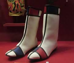 Eye On Design Eye On Design Hullabaloo Mondrian Inspired Hi Brows Boots The