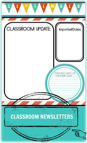 ms publisher newsletter templates free best 25 weekly classroom newsletter ideas on pinterest customizable classroom newsletter templates two styles