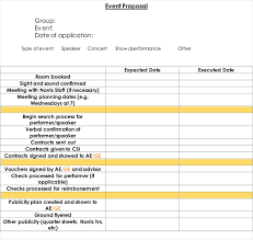 event proposal template 12 samples forms u0026 formats