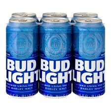how many calories in a 12 oz bud light beer bud light cans 6 pk 16 0 fl oz walmart com