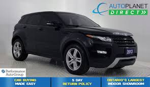 land rover lr2 lifted used 2013 land rover range rover evoque for sale brampton on