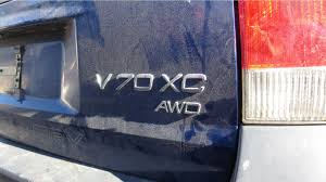 2002 volvo v70 xc in colorado wrecking yard