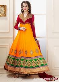 fancy frocks fashion mag indian anarkali umbrella wedding brides bridal party