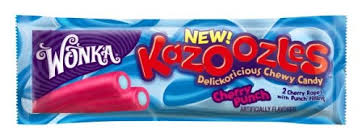 kazoozles candy where to buy wonka kazoozles chewy candy cherry punch 1 8 ounce packages