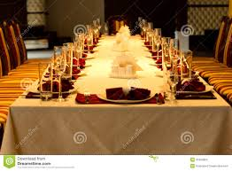 formal dinner table setting formal dinner table settings for a special event stock photo image
