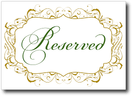 wedding signs template free reserved seating signs template www napma net
