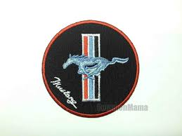ford mustang patch ford mustang motor car iron on sew applique embroidered patch