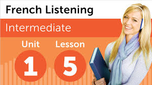 french listening comprehension shopping for an in france