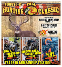 Bass Pro Shop Home Decor Bass Pro Shops Fall Hunting Classic Flyer August 1 To August 17 Canada